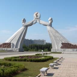 Koreańska Republika Ludowo-Demokratyczna, czyli na północ od 38. równoleżnika