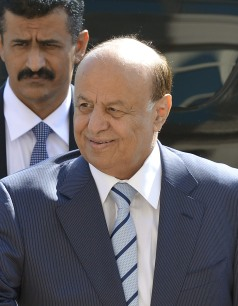 President Abd Rabuh Mansur Hadi at the Pentagon in Arlington, Va., July 30, 2013. autor Glenn Fawcett