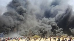 Palestyna płonie