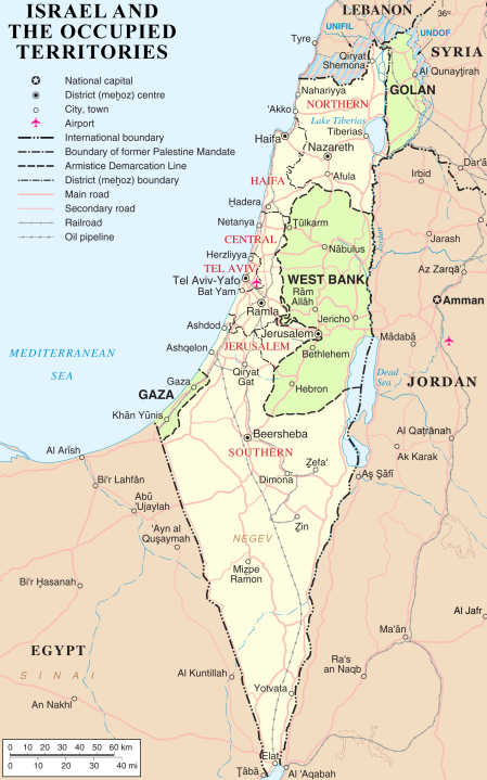 Israel_and_occupied_territories_map stan na luty 2018