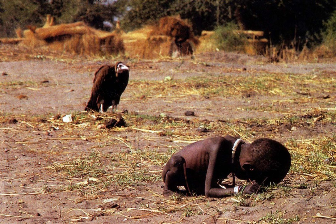 The Vulture and the Little Girl, 1993, fot. Kevin Carter