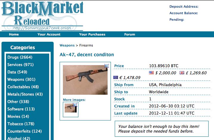 darknet gun