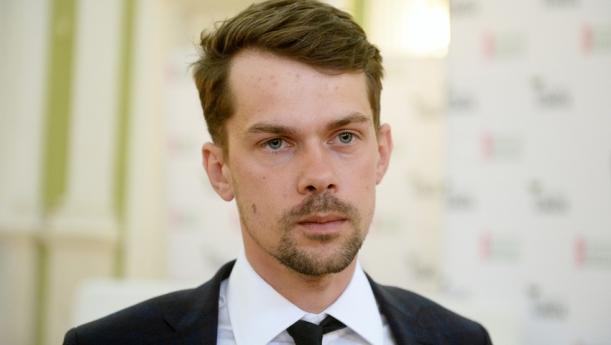 Fot. Jan Bielecki/East News, Warszawa, 14.05.2019. Debata o polskim rolnictwie, zorganizowana przez AgroUnie. N/z: lider AgroUnii Michal Kolodziejczak.