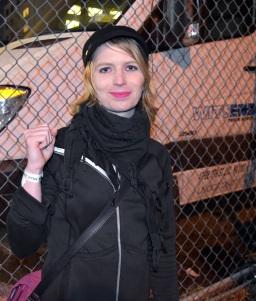 Chelsea Manning w2018 roku. Fot. Manolo Luna