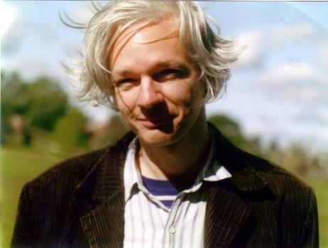 Julian Assange. Fot. Julian Assange & Martina Haris
